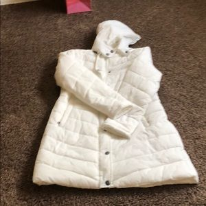 Women's long puffy coat